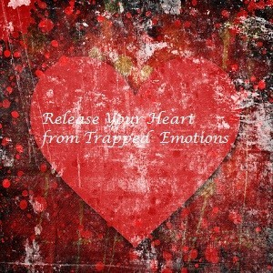 Visual for Emotion Code, a heart 'Release your Heart from Trapped Emotions'