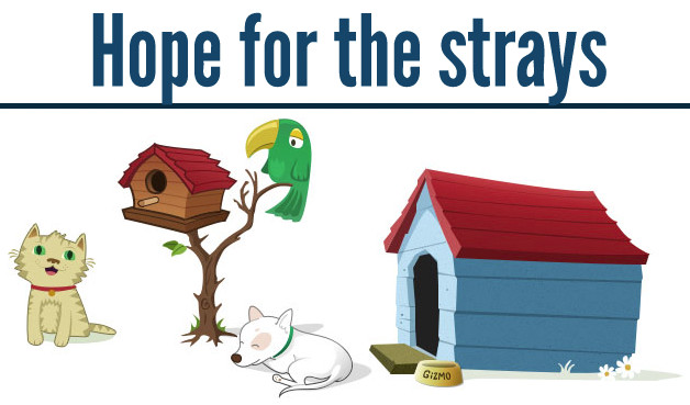 Hope for the Strays logo